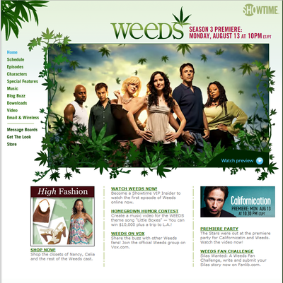 Weeds_home_page_screenshot